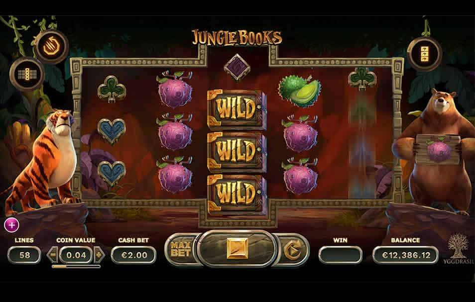 Jungle Books Slot