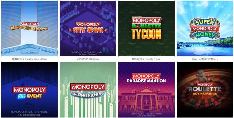 Monopoly Online Slots