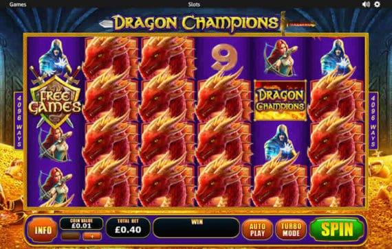 Dragon Champions Slot Machine