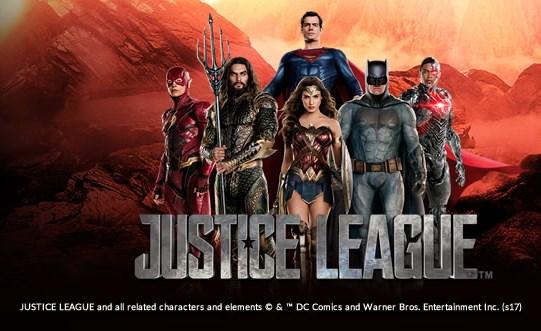 justice league slot playtech