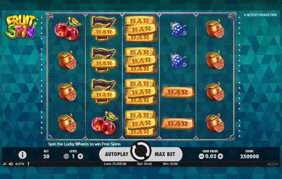 Fruit Spin Slot Machine