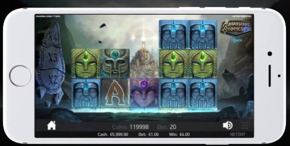 Asgardian Stones slot NetEnt