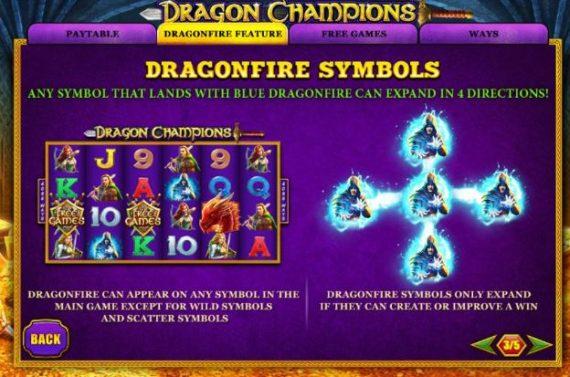 dragon champions slot playtech