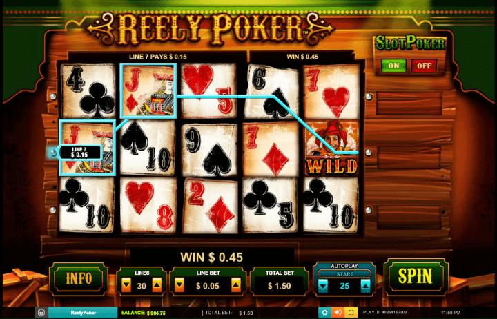Reely Poker Slot