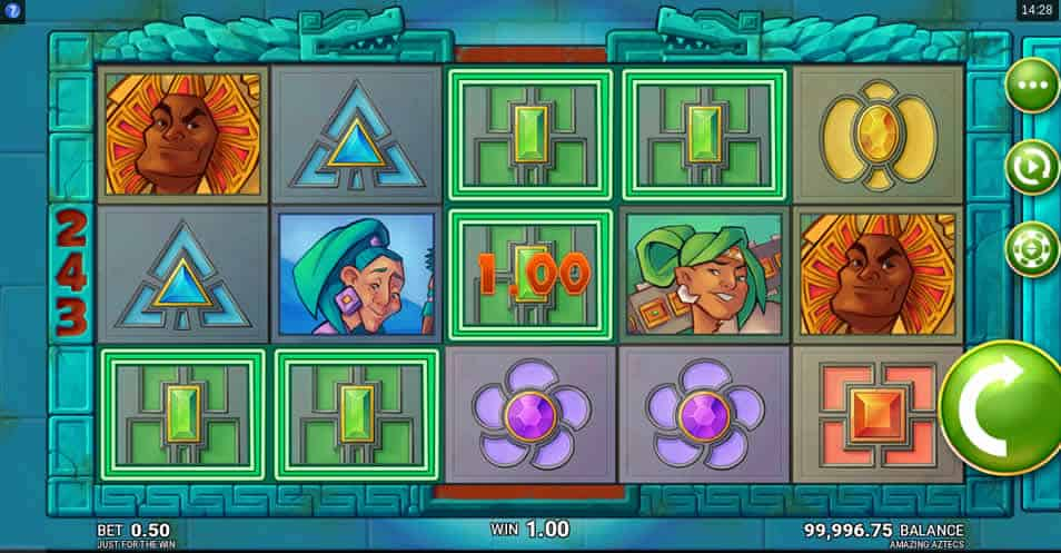 Amazing Aztec Slot by Microgaming & Just for the Win