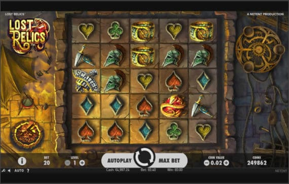 Lost Relic Slot Machine Review