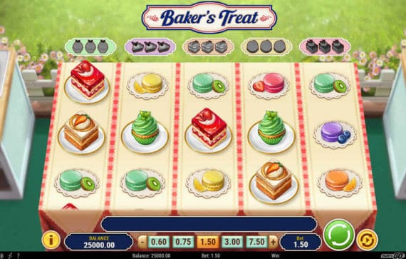 Baker's Treat Slot Machine