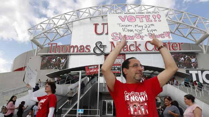 25,000 Vegas Casino Workers Strike 2018