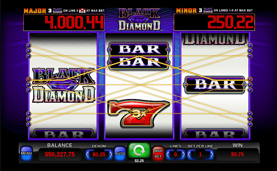 Black Diamond Slot Review 2