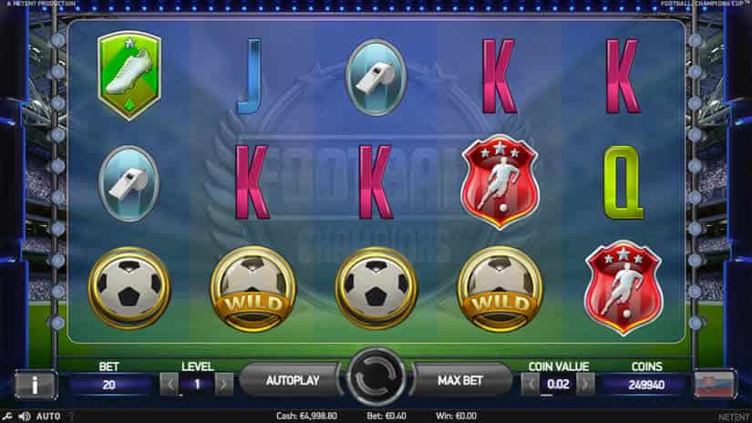 Football Worldcup Slot by Netent
