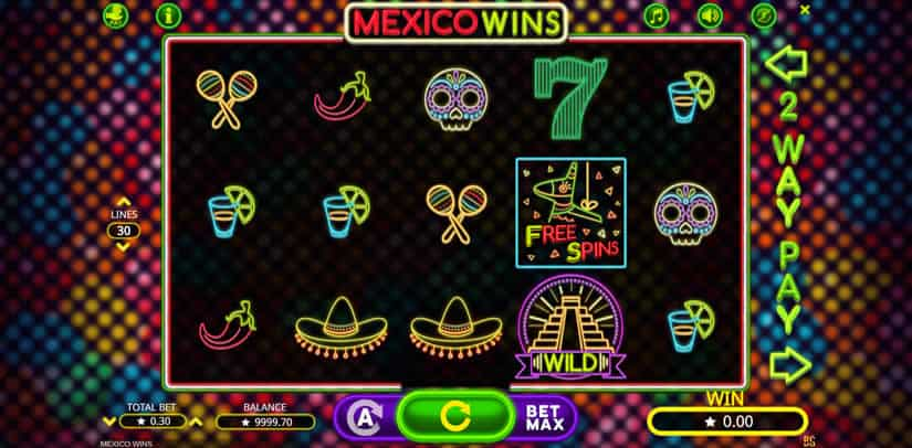 Mexico Wins Slot by Booming Games