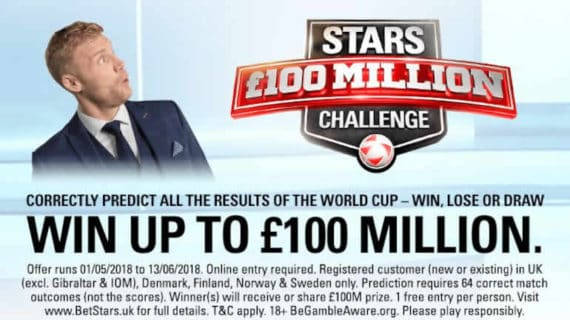 PokerStars 100 Million World Cup Challenge