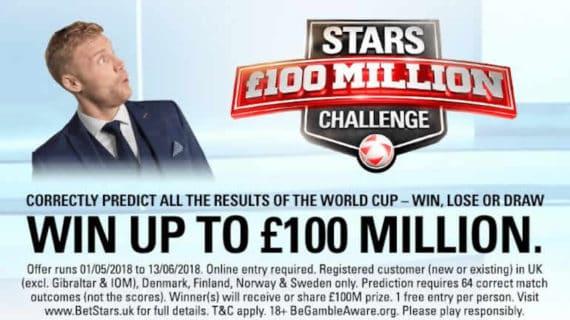 PokerStars 100 Million World Cup Challenge