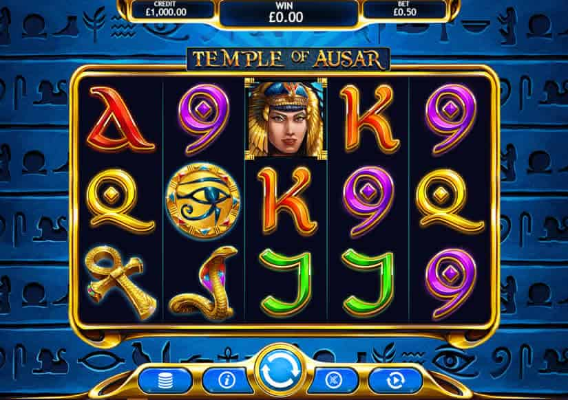 Temple of Ausar by Eyecon Casino Software