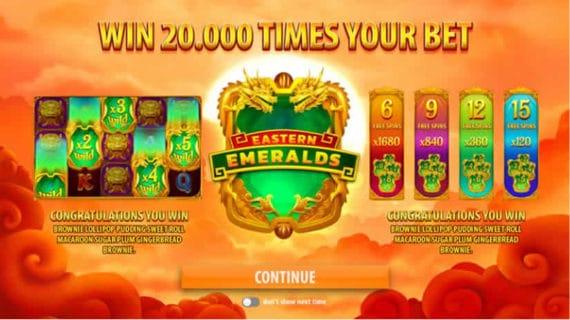 Eastern Emerald Slots