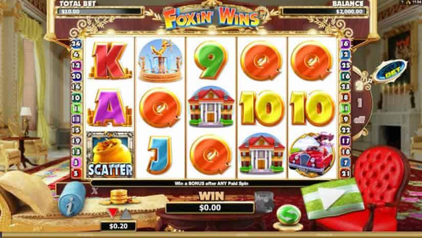 Foxin' Wins Slot Machine by Nextgen