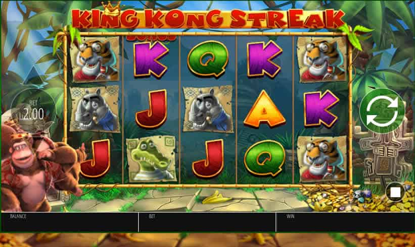 King Kong Cash Slot Game by Nyx