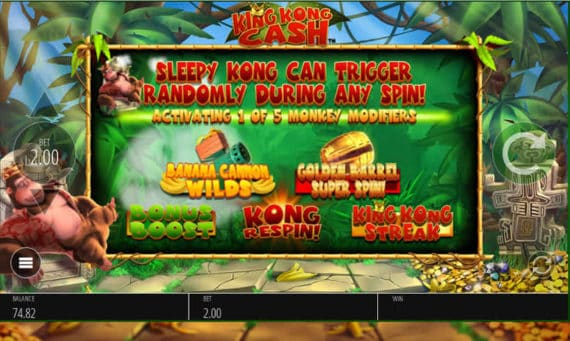 King Kong Cash Slot Preview by Nyx