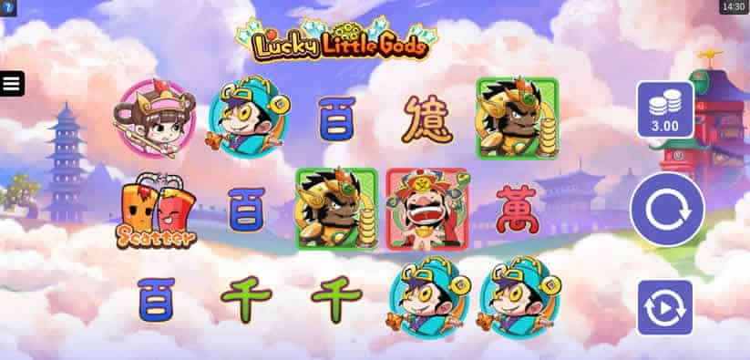Lucky Little Gods Slot Machine by Microgaming