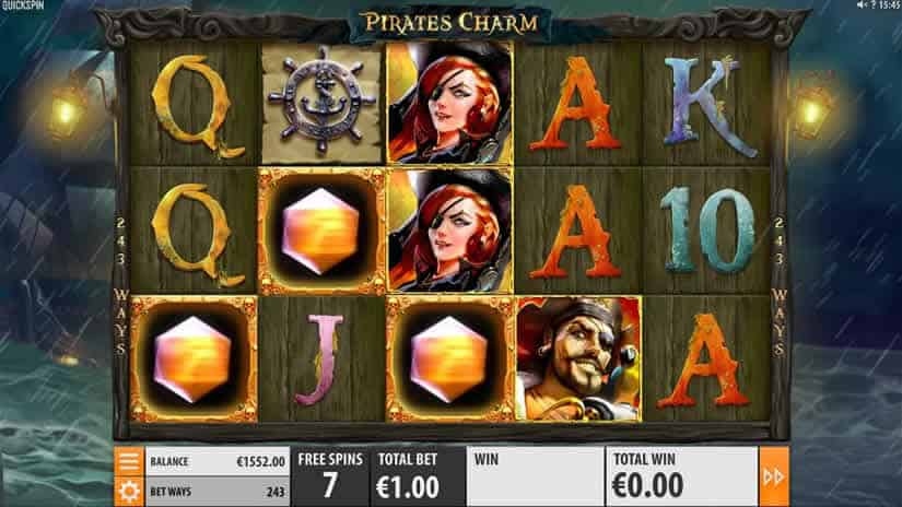Pirate's Charm Slot by Quickspin