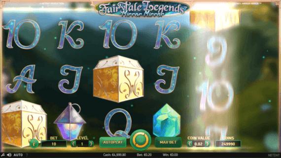 Fairytale Mirror Mirror Slot Machine