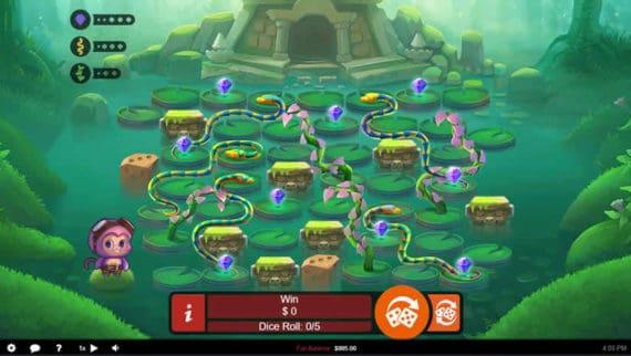 Banana Jones Slot by RTG - Real Time Gaming Software