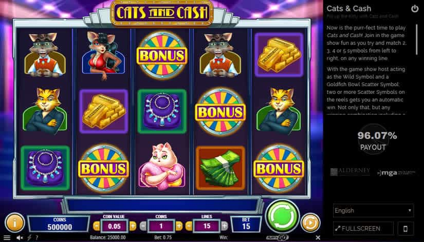 Exotic Cat Slot Review