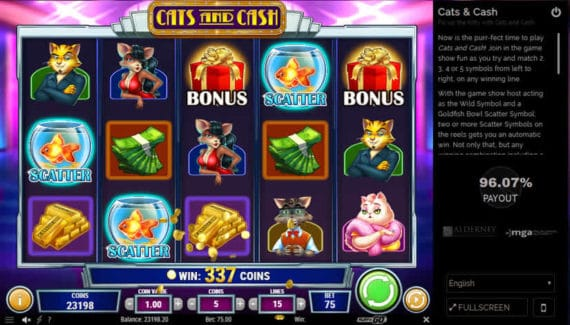 Exotic Cat Slot Review Bonus & Scatter