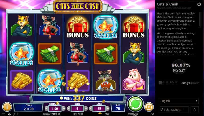 Exotic Cat Slot Review Bonus & Scatter