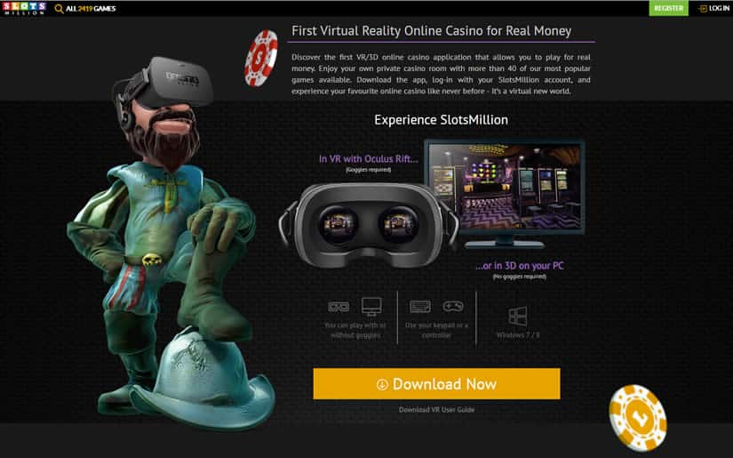 Virtual Reality Casino: Slots Million