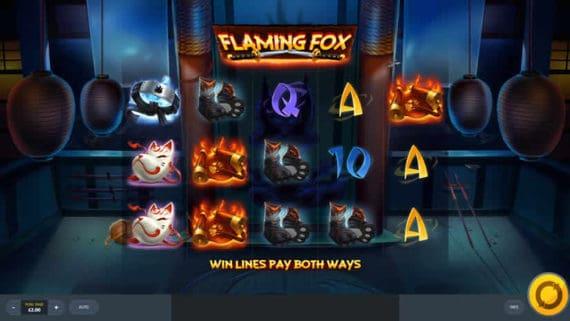 Flaming Fox Red Tiger Gaming