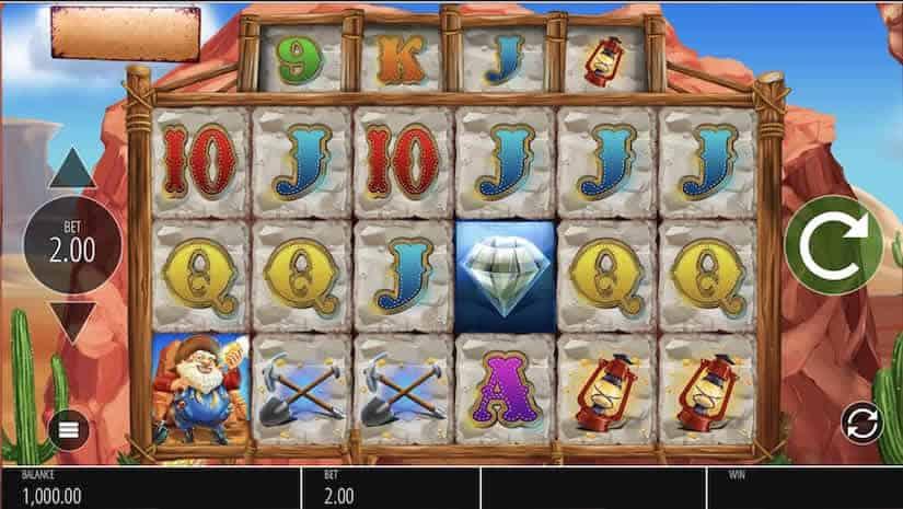 Diamond Mine Slot by Blueprint Gaming