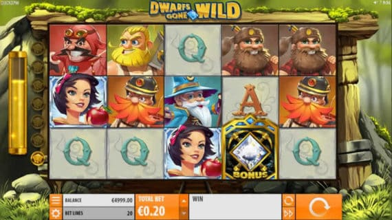 Dwarf Gone Wild Slot by Quickspin