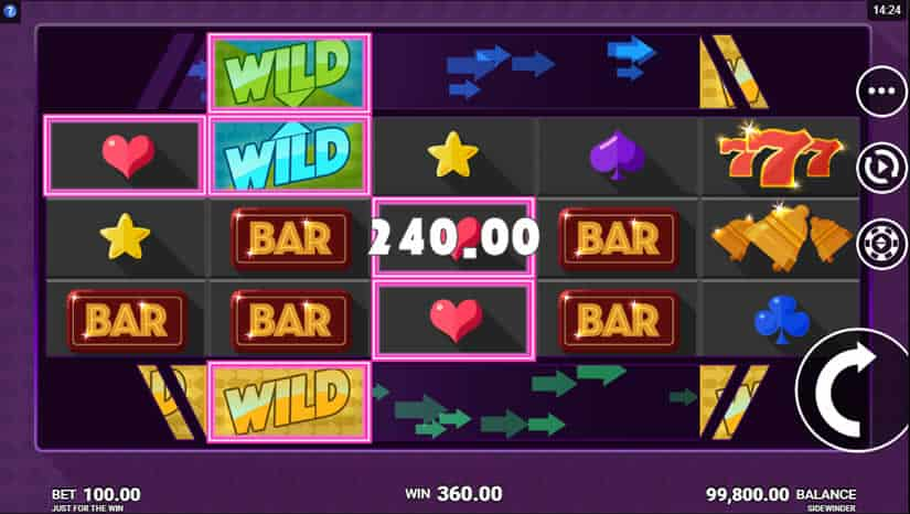 Sidewinder Slot Win - Review and RTP