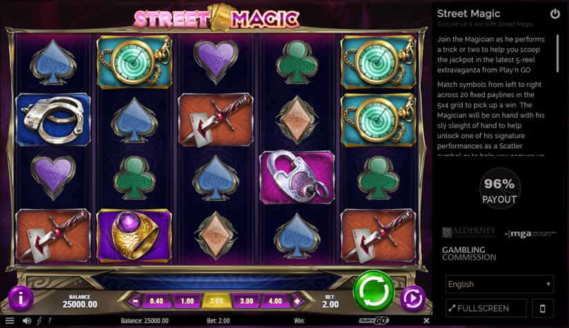 Street Magic Slot by Play'n Go