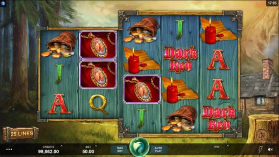 Wicked Tales Dark Red Slot by Microgaming