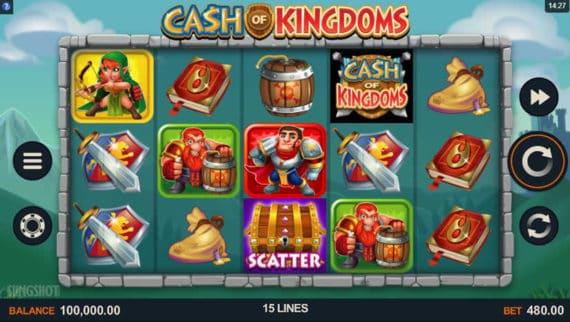 Cash of Kingdoms Slot by Sling Shot + Microgaming