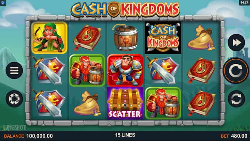 Cash of Kingdoms Slot by Sling Shot + Microgaming