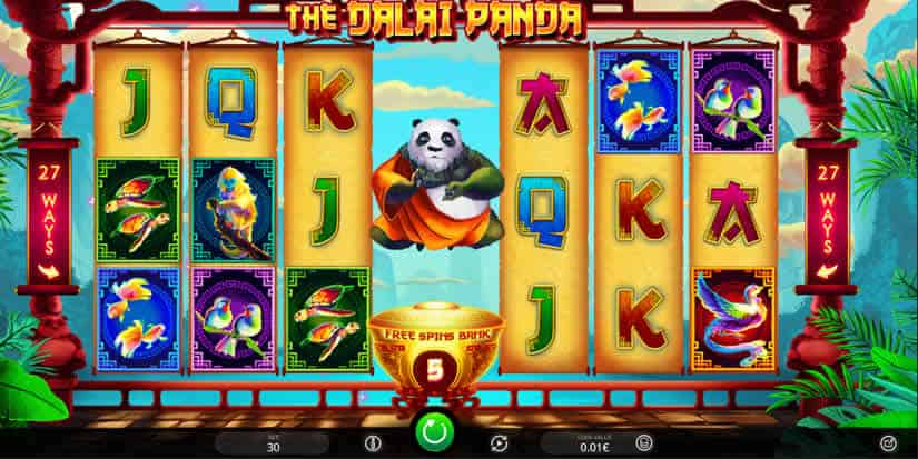 The Dalai Panda Slot by iSoftBet