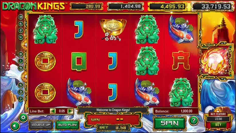 Dragon Kings Slot by Betsoft