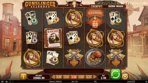 Gunslinger Slot by Play'n Go