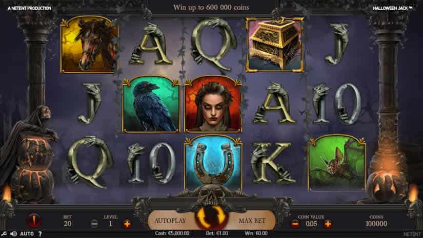 Halloween Jack Slot by Netent