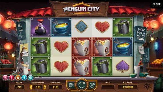Penguin Slot by Yggdrasil