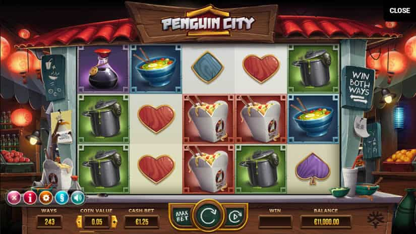 Penguin Slot by Yggdrasil