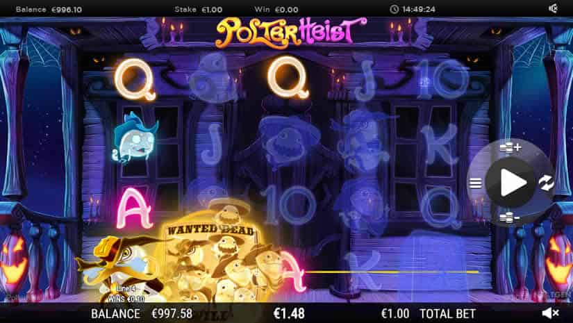 PolterHeist Slot by Nyx Win