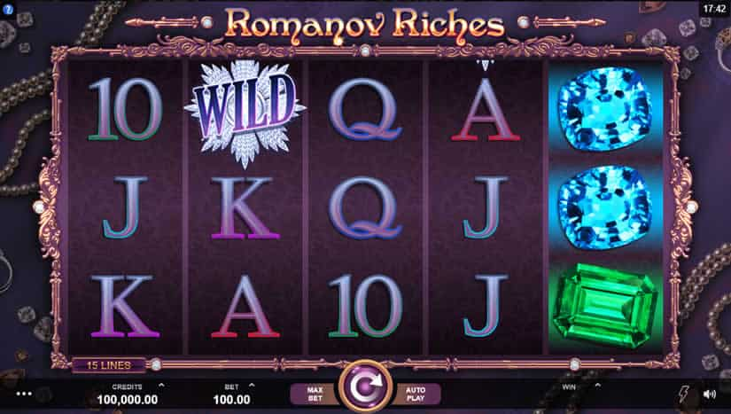 Romanov Riches Slot by Microgaming