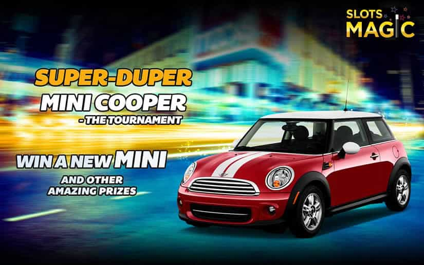 GIG Slots Magic Christmas Promotion - Win a Mini Couper