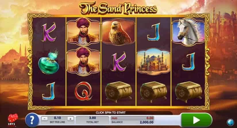 2 By 2 Gaming Slots: The Sand Princess