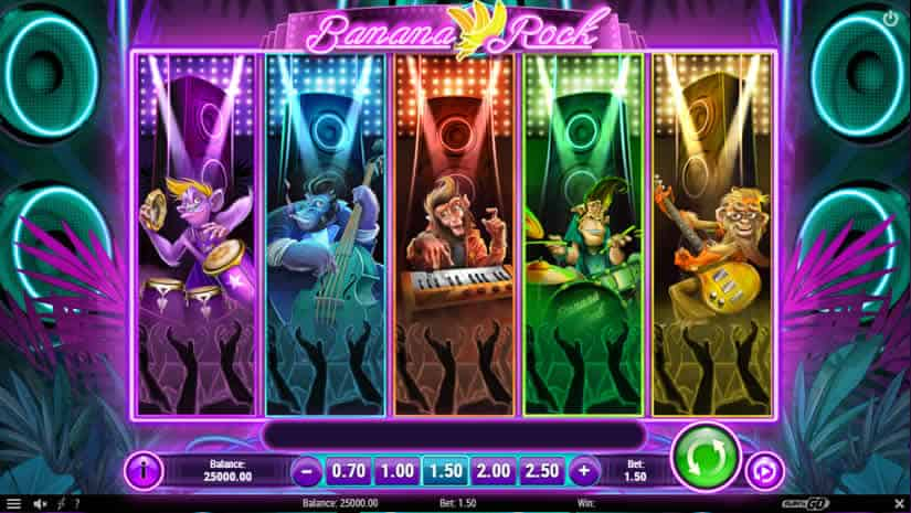 Banana Rock Slot by Play'n GO