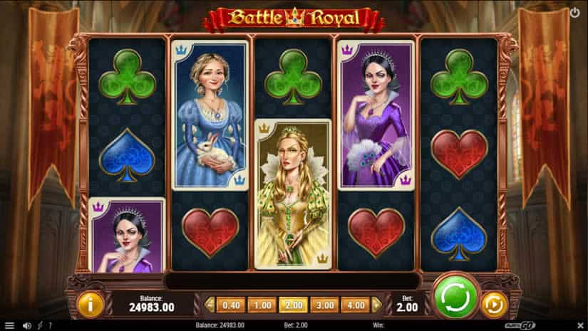Battle Royal Slot by Play'N GO